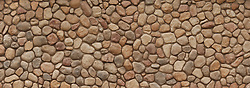 Large field stone wall