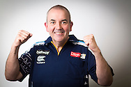 Phil 'The Power' Taylor pictured at the Brighton Centre in Brighton, East Sussex for Betway Premier League Darts. Picture date: Thursday 15th May, 2014. Photo credit should read: Chris Ison.