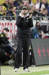 11.04.2012, Signal-Iduna-Park, Dortmund, GER, 1. FBL, Borussia Dortmund vs FC Bayern Muenchen, 30. Spieltag, im Bild Trainer Juergen Klopp (Borussia Dortmund), Freisteller // during the German Bundesliga Match, 30th Round between Borussia Dortmund and FC Bayern Muenchen at the Signal Iduna Park, Dortmund, Germany on 2012/04/11. EXPA Pictures © 2012, PhotoCredit: EXPA/ Eibner/ Oliver Vogler..***** ATTENTION - OUT OF GER *****