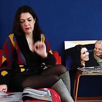 Nederland, Utrecht , 17 november 2010..Marieke van Willigen, journalist, tekstschrijver en taaltrainer en weduwe van de overleden RTL nieuws Buitenland correspondent Conny Mus. Foto:Jean-Pierre Jans