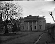 Special for Belfast Telegraph - St Matthias Church (Church of Ireland), Hatch Street, Dublin.19/12/1956