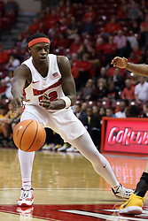 27 January 2018:  Milik Yarbrough during a College mens basketball game between the Valparaiso Crusaders and Illinois State Redbirds in Redbird Arena, Normal IL