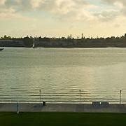 View of Coronado from San Diego Harbor.