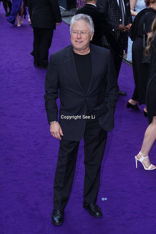 London,England,UK : 15 June 2016 : Alan Menken attend the Disney's Aladdin Opening Night at the Prince Edward Theatre on Old Compton Street, Soho, London. Photo by See Li