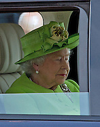 70th Anniv -  Queen Elizabeth Appears Asleep, Ouistreham