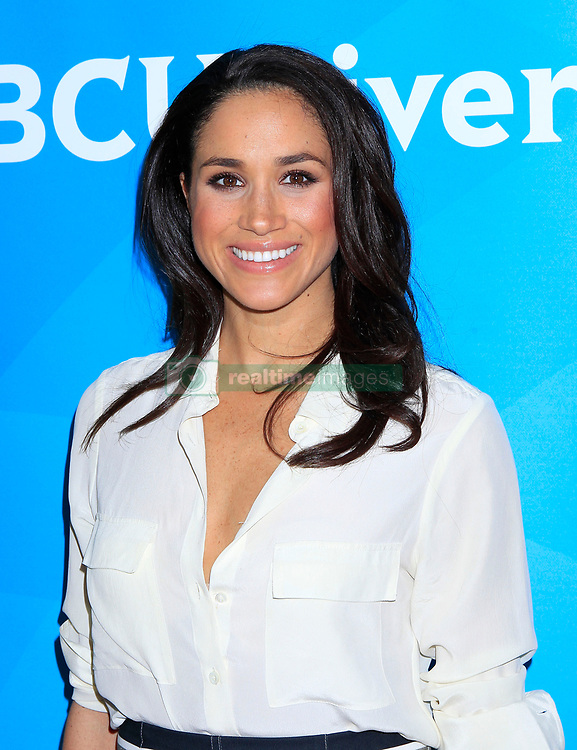 Meghan Markle arrives at the NBC Universal TCA Press Tour on January 19, 2014 in Pasadena, California. Francis Specker /Landov