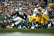 December 17, 2017: Carolina Panthers vs the Greenbay Packers. Vernon Butler