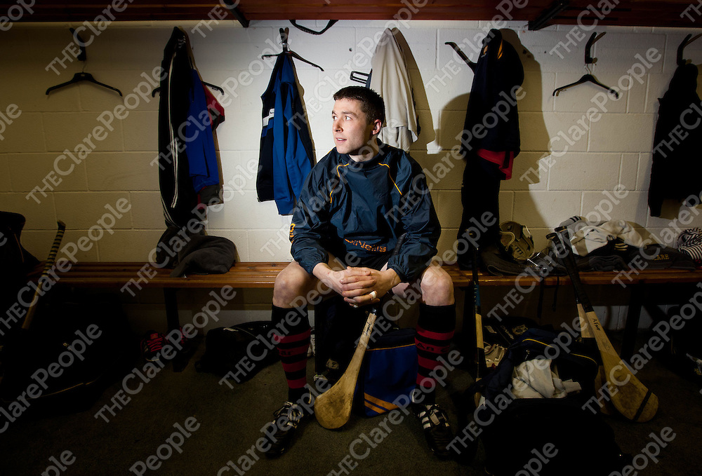 Fergal Lynch, Clare Hurler at a training session at Gorteen Clare. Pic Press 22.