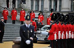© Licensed to London News Pictures. 17 April 2013. St Paul's Cathedral London. Mark Thatcher. Funeral of Baroness Thatcher, former Conservative Prime Minister. Photo credit : MarkHemsworth/LNP