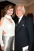 ROSE MARIE LIEBERMAN; KENNETH LIEBERMAN; , Triennial Summer Ball, Royal Academy. Piccadilly. London. 20 June 2011. <br /> <br />  , -DO NOT ARCHIVE-© Copyright Photograph by Dafydd Jones. 248 Clapham Rd. London SW9 0PZ. Tel 0207 820 0771. www.dafjones.com.
