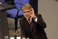 20 DEC 2002, BERLIN/GERMANY:<br /> Ronald Pofalla, MdB, CDU, waehrend seiner Rede, Plenum, Deutscher Bundestag<br /> IMAGE: 20021220-01-020<br /> KEYWORDS: Sitzung, speech