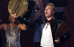 Ronan Keating, best male solo at Smash Hits poll winners party, London 2000. December 10, 2000..Photo by Andrew Parsons / i-Images..