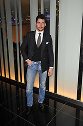 DAVID GANDY at a party to celebrate the 15th birthday of Vogue.com held at W Hotel, Leicester Square, London W1 on 17th February 2011.