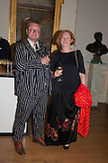 FERGUS HENDERSON; MARGOT HENDERSON,  VIP room during the RA summer exhibition party. Royal Academy, Piccadilly. London. 5 June 2013.