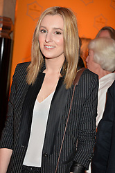 LAURA CARMICHAEL at the Veuve Clicquot Business Woman Awards held at Claridge's, Brook Street, London on 11th May 2015.
