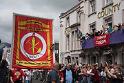 ROYAL COUNTY HOTEL, , The Durham Miners Gala, Durham. 13 July 2019
