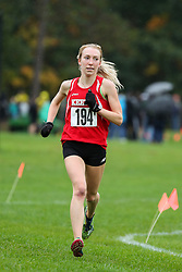 Bowdoin Invitational Cross Country Meet<br /> <br /> photo © Kevin Morris<br /> kevinmorris@mac.com<br /> 207-522-5807 , Lauren Perkowski, Keene State College,