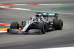 May 11, 2019 - Montmelò.Montmel&#Xf2, Catalunya, Spain - xa9; Photo4 / LaPresse.11/05/2019 Montmelo, Spain.Sport .Grand Prix Formula One Spain 2019.In the pic: Lewis Hamilton (GBR) Mercedes AMG F1 W10 (Credit Image: © Photo4/Lapresse via ZUMA Press)