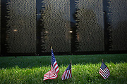 """The Wall That Heals"", a half-scale replica of the Vietnam Veterans Memorial, was displayed in Bicentennial Park Sept. 14-17."