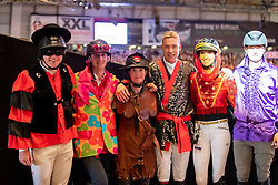 Kreuzer Andreas (GER), Hassmann Felix (GER), Sprehe J&ouml;rne (GER), Stevens Mario (GER), Blum Simone (GER)<br /> Stuttgart - German Masters 2018<br /> &copy; Hippo Foto - Stefan Lafrentz