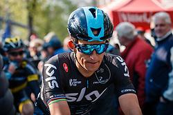 KWIATKOWSKI Michal of Team Sky after UCI Men WorldTour 81st La Flèche Wallonne at Huy Belgium, 19 April 2017. Photo by Pim Nijland / PelotonPhotos.com | All photos usage must carry mandatory copyright credit (Peloton Photos | Pim Nijland)