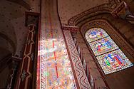 1/11/16 - ISSOIRE - PUY DE DOME - FRANCE - La Basilique SAINT AUSTREMOINE, chef d oeuvre de l Art Roman Auvergnat - Photo Jerome CHABANNE