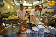China, Hong Kong S.A.R..Mak's Noodle at Wellington Street, central is Hong Kong's best place for Wonton noodles.