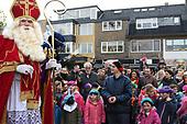 Sinterklaas komt aan in Soest met Zwarte Pieten