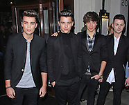Union J - fragrance launch party