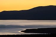 Sunrise over Mono Lake; Mono County; Eastern Sierra; California