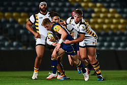 George Wootten of Worcester Cavaliers in action  - Mandatory by-line: Craig Thomas/JMP - 23/10/2017 - RUGBY - Sixways Stadium - Worcester, England - Worcester Cavaliers v Wasps - Aviva A League