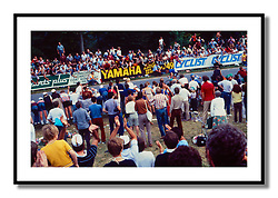 World Professional Road Race Championships, Goodwood, 1982<br /> <br /> Giuseppe Saronni unleashes an astonishing sprint to win the rainbow jersey at Goodwood.