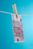 Money Hanging Out to Dry