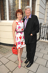 MR GEOFFREY ROBERTSON QC and his wife, writer KATHY LETTE at the Spectator Summer Party held at 22 Old Queen Street, London SW1 on 3rd July 2008.<br />
