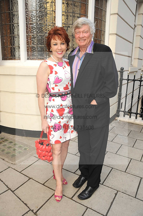 MR GEOFFREY ROBERTSON QC and his wife, writer KATHY LETTE at the Spectator Summer Party held at 22 Old Queen Street, London SW1 on 3rd July 2008.<br /><br />NON EXCLUSIVE - WORLD RIGHTS