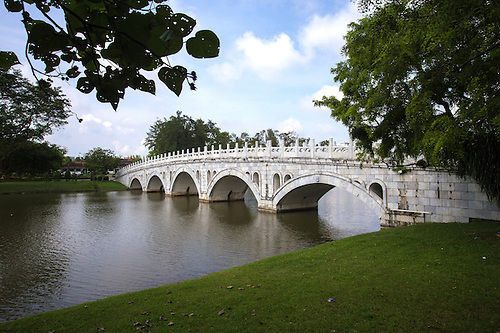 The Pai Hung Chu0027iao Bridge A 13 Arch Bridge At The Garden Imitates.