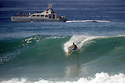 November 2nd 2010: Harley Ingleby  free surfing at Makaha Oahu-Hawaii. Photo by Matt Roberts/mattrIMAGES.com.au