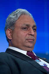 Chander P. Gurnani, chief executive officer of Mahindra Satyam, listens during the World Economic Forum in Brussels, Monday May 10, 2010. (Photo © Jock Fistick)