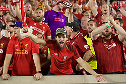 SOUTH BEND, INDIANA, USA - Friday, July 19, 2019: Liverpool supporters after a friendly match between Liverpool FC and Borussia Dortmund at the Notre Dame Stadium on day four of the club's pre-season tour of America. (Pic by David Rawcliffe/Propaganda)