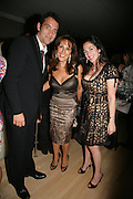 Clive Owen, Nina Faidhi and Samar Alkadhi, An Evening At Sanderson,  Sanderson Hotel, 50 Berners Street, London, W1, Charity reception now in its seventh year raising money for CLIC Sargent.15 May 2007. -DO NOT ARCHIVE-© Copyright Photograph by Dafydd Jones. 248 Clapham Rd. London SW9 0PZ. Tel 0207 820 0771. www.dafjones.com.