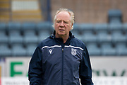 14th September 2019; Dens Park, Dundee, Scotland; Scottish Championship, Dundee Football Club versus Alloa Athletic; Dundee assistant manager Jimmy Nicholl during the warm up before the match