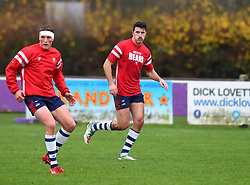 Trialist Leonardo Sarto Bristol Bears United during warm-up - Mandatory by-line: Paul Knight/JMP - 02/12/2018 - RUGBY - Clifton RFC - Bristol, England - Bristol Bears United v Harlequins - Premiership Rugby Shield