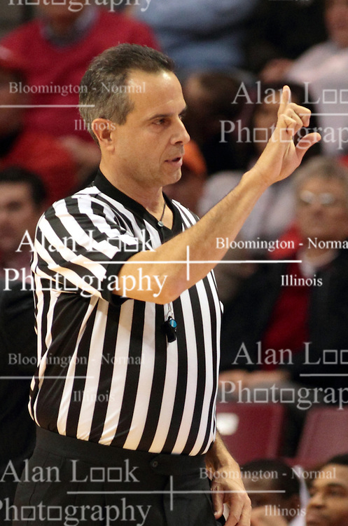 07 December 2013:  John Moore during an NCAA mens basketball game. The Illinois State Redbirds beat the 25th ranked Dayton Flyers 81-75 in Redbird Arena, Normal IL