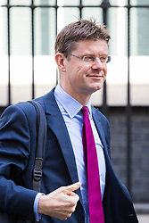 Downing Street, London, April 12th 2016. Communities Secretary Greg Clark leaves the weekly cabinet meeting. <br /> ©Paul Davey<br /> FOR LICENCING CONTACT: Paul Davey +44 (0) 7966 016 296 paul@pauldaveycreative.co.uk