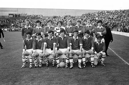 26.09.1971 Football Minor Final Mayo Vs Cork.Cork Team.