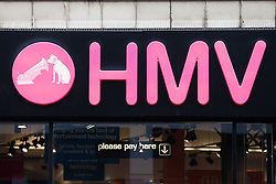 © Licensed to London News Pictures . 11/01/2013 . Belfast , UK . An HMV branch in Belfast , UK today (11th January 2013) as the chain announces a 25 percent off blue cross sale . Photo credit : Joel Goodman/LNP.