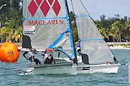 MIAMI, February 2, 2013 - Soffiatti and Tunnicliffe in close competition.