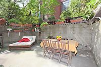 Garden at 46 West 71st Street