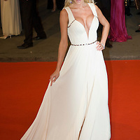 LONDON - FEBRUARY 10:Actress Victoria Silvsted arrives at The Orange British Academy Film Awards 2008 at the Royal Opera House on February 10, 2008 in London, England.