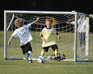 Oxford Park Commission soccer action at FNC Park in Oxford, Miss. on Monday, September 20, 2010.